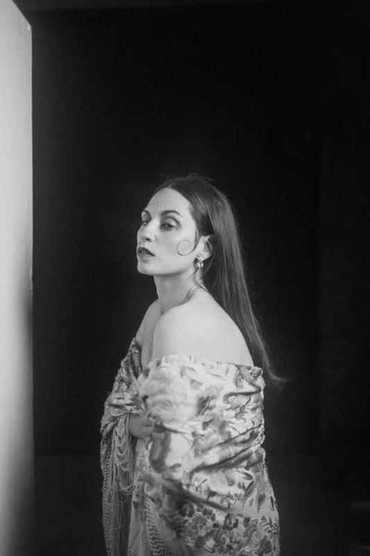 shooting actriz sesion flamenca andalucia veronica morales