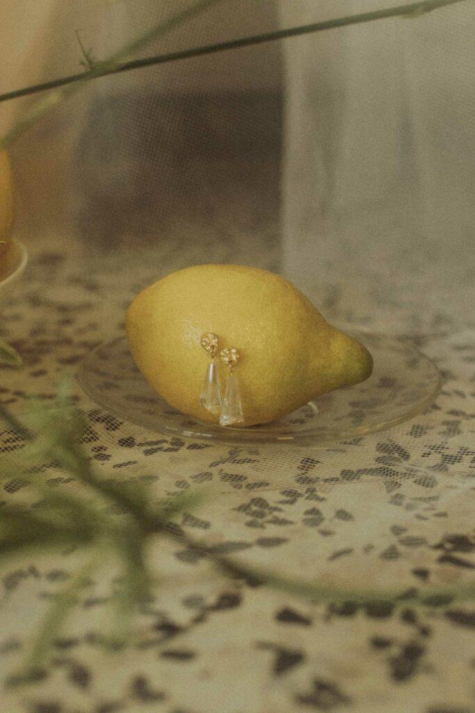 bodegon limones y pendientes